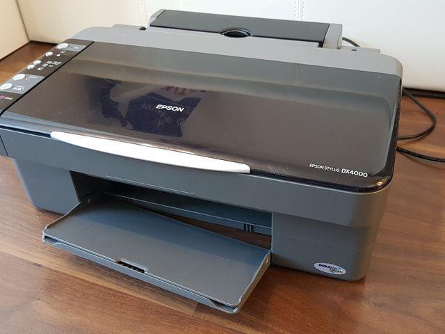 Nieuw Impresora EPSON STYLUS DX 4000 de segunda mano por 8 € en Pamplona ZP-45