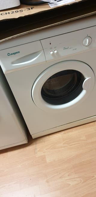 lavadora aspes de 6kg a 80€ con garantía