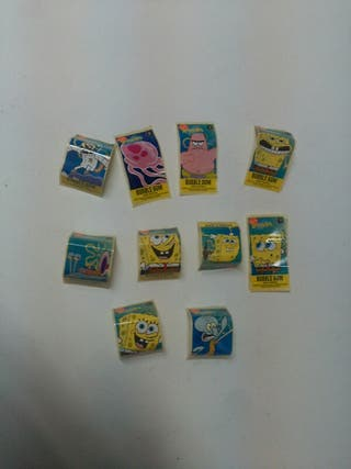 chicles bob esponja