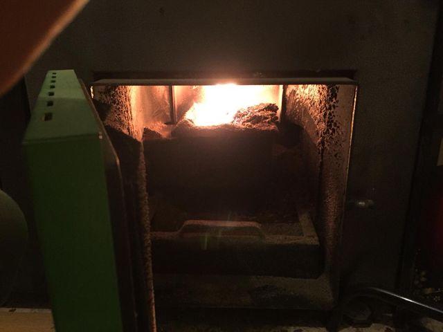 Caldera biomassa pellet