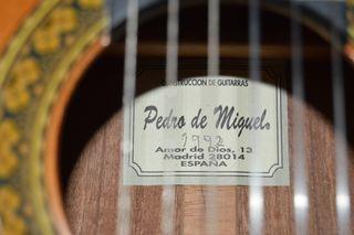Guitarra Pedro De Miguel