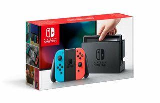 Nintendo switch. SIN ABRIR