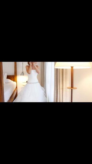 Vestido de novia emperador de Rosa Clara