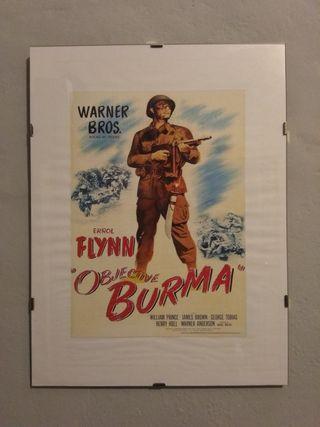Cuadro Objetivo Birmania