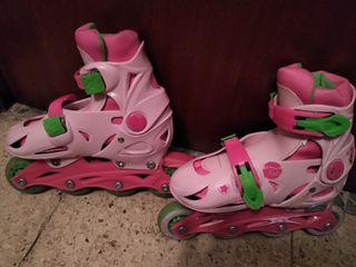 patines niña línea nuevos