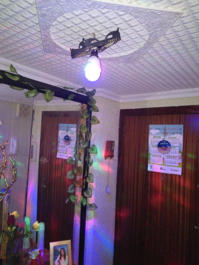 bombillas LED giratorias