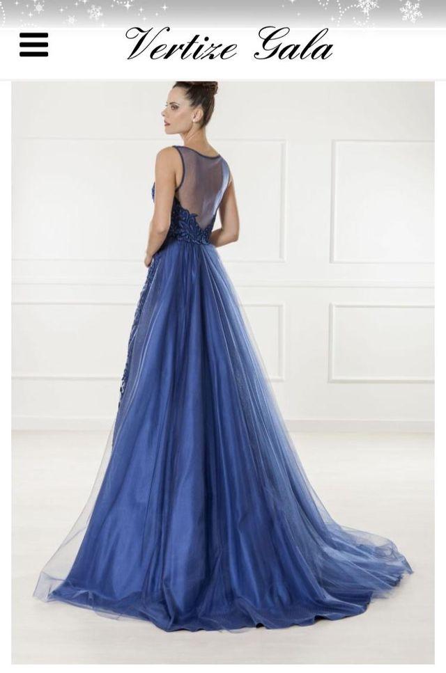 b1342911a Vestido azul vertize gala talla 44-46 2018 de segunda mano por 150 ...