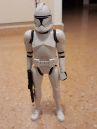 figura star wars clon