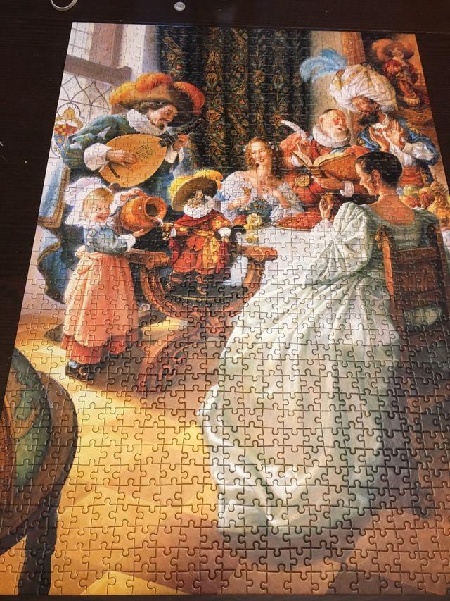 Puzzle, 1000 piezas