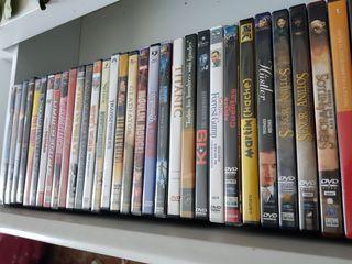 DVDs películas variado