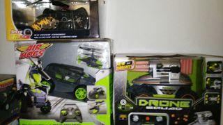 juguetes radio control varios modelos