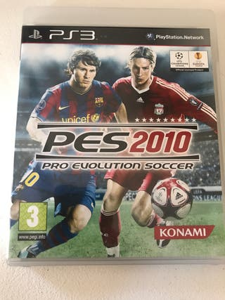 Pes 2010 ps3 pro evolution soccer