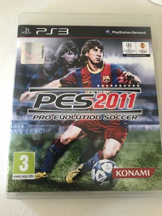 Pes 2011 ps3 pro evolution soccer