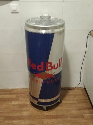 Nevera de Red Bull