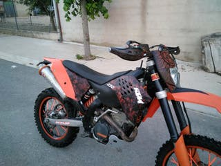 ktm 250 excf 2008