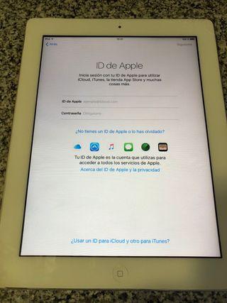 iPad 2 libre de iCloud