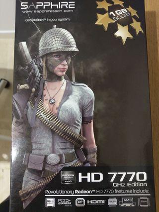 Tarjeta gráfica AMD Radeon HD 7770