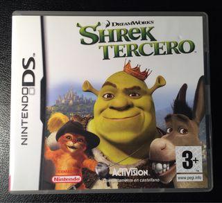 Shrek Tercero Nintendo DS