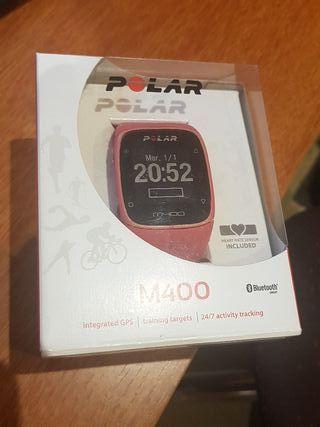 Reloj Polar M400 con sensor incluido