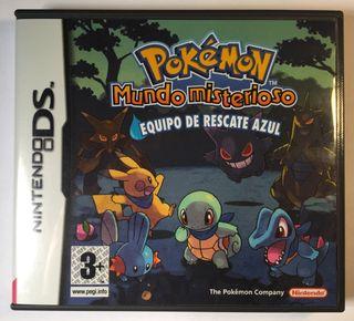 Pokémon Mundo misterioso Nintendo DS