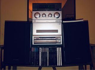 Mini cadena música Panasonic