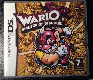 Wario Master of Disguise Nintendo DS