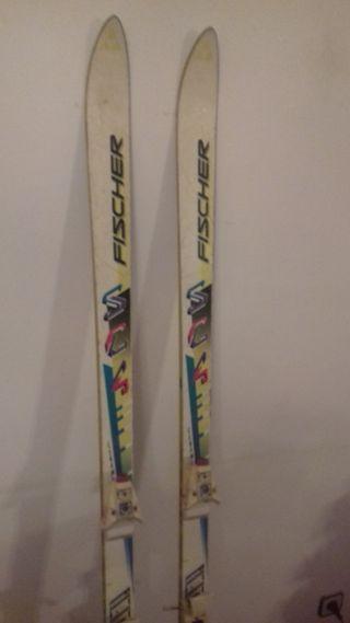 Fischer esquís de la mujer