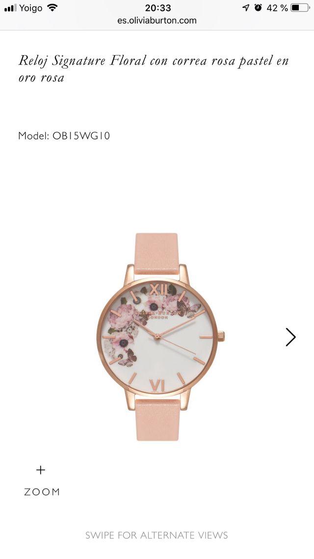 01323c247e5e Reloj pulsera mujer Olivia Burton (NUEVO) de segunda mano por 70 ...