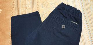 Pantalon chino niño azul marino