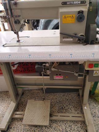 Maquina coser cortahilos