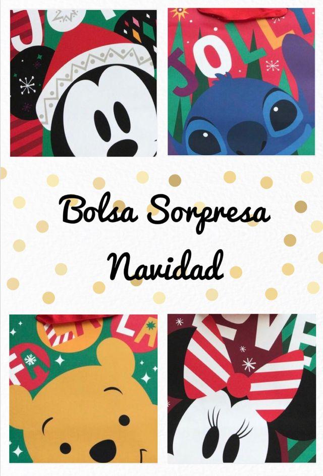 Bolsa con REGALO Sorpresa - Navidad DISNEY