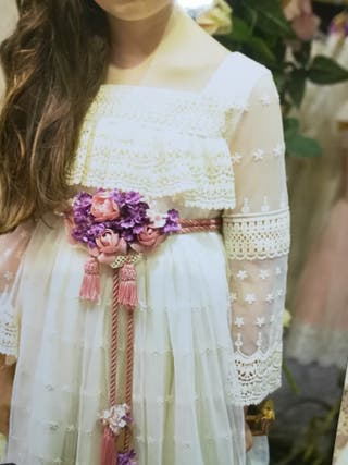 vestido comunión mon air super oferta
