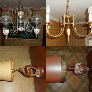 lamparas,descalzadora,cabecero,decoracion vintaje