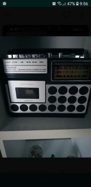 Radio cassete vintage