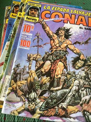 Pack 10 cómics La espada salvaje de Conan