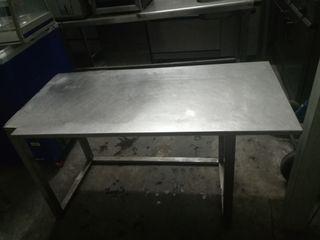 Mesa de acero inoxidable 1,20