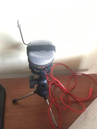 Micrófono para streams