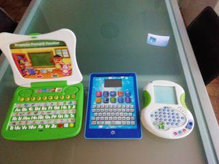 ordenador y tablets infantiles