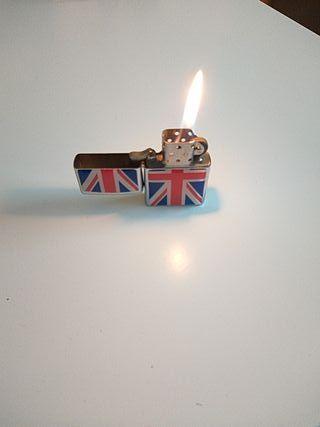 Mechero tipo Zippo bandera Reino Unido