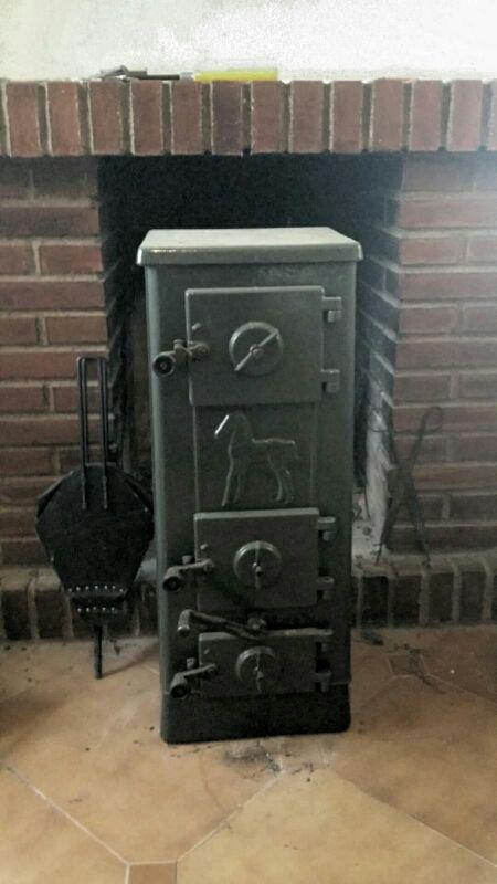 Estufa Hierro Fundido Jotul leña - carbón