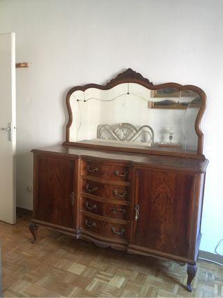 Mueble antiguos de segunda mano en madrid en wallapop - Muebles viejos segunda mano ...