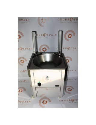 Freidora industrial automática a gas 700mm/35,6kw