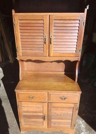 Mueble vintage de madera