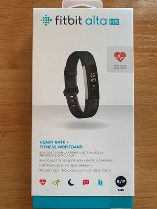 Reloj Fitbit Alta HR + 3 correas + 2 pegatinas