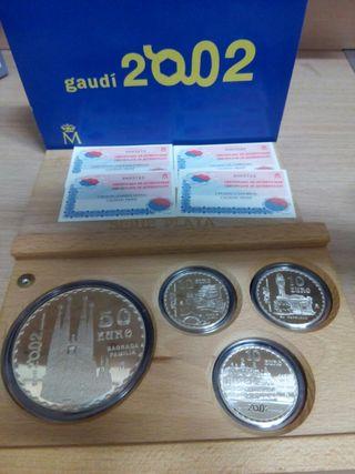 Monedas euro set plata 2002
