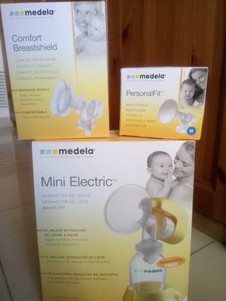 sacaleches eléctrico Medela mini electric + embudo