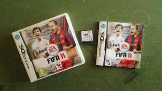 FIFA 11 NINTENDO DS con caja y manual