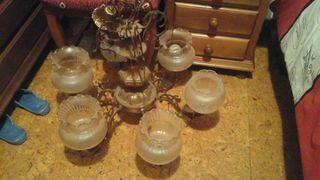 Lámpara de broce