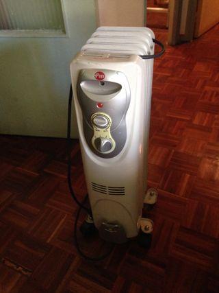 Calefactor eléctrico de aceite