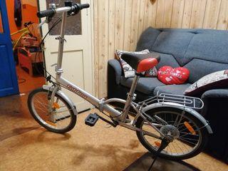 vendo bicicleta plegable folding experience